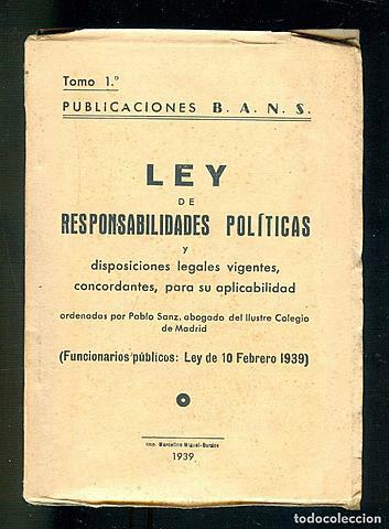 Llei de responsabilitats polítiques
