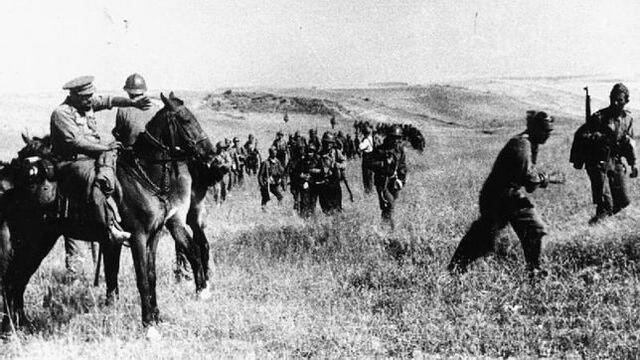 Ofensiva de los republicanos en el centro peninsular.