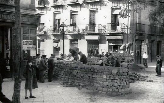 Ofensiva del ejército contra Madrid.