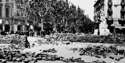 Fets del maig a Barcelona
