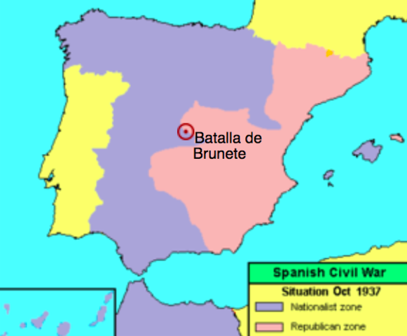 Batalla de Brunete (Madrid)