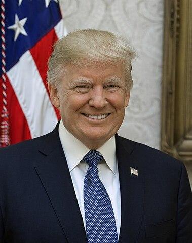 Donald Trump. (1946-Actualidad). - 45º presidente de los Estados Unidos.