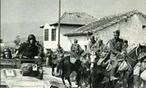 Inici de la campanya d'Aragó de l'exèrcit franquista, baixant l'Ebre cap a Catalunya