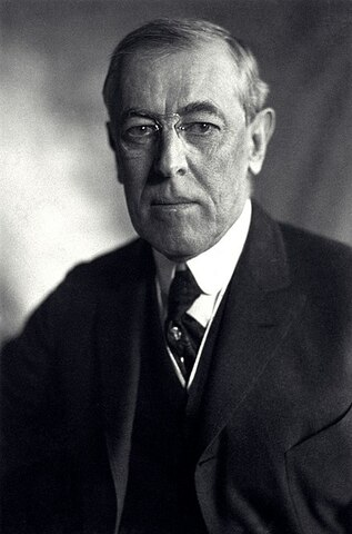 Woodrow Wilson. (1856-1924)- 28º Presidente de los Estados Unidos.