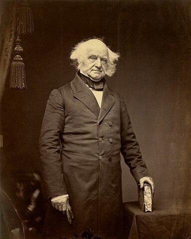 Martin Van Buren. (1782-1862). - 8º Presidente de los Estados Unidos.