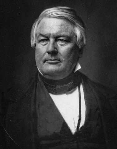Millard Fillmore. (1800-1874). - 13º Presidente de los Estados Unidos.