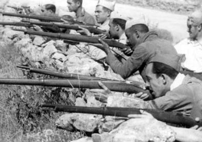 Aixecament militar de l'exèrcit al Marroc.