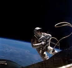 First Spacewalk Preformed by an American