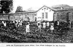 AÑO 1885 SE SIGUIÓ PRACTICANDO EL CONCERTAJE LABORAL DE NIÑOS Y NIÑAS DESDE ESTAS INSTITUCIONES CON LA ANUENCIA DEL ESTADO