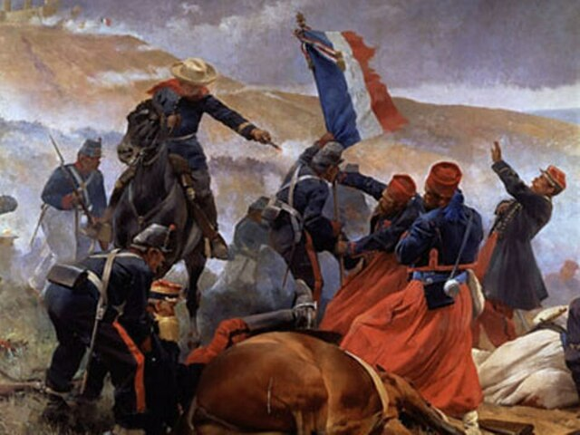 La segunda intervención francesa en México