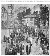 1882 FIESTA DE CARIDAD. BOGOTÁ