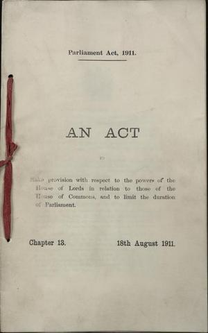 Parliament Act