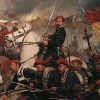 LA ESPAÑA del XIX : TRADICIONALISTAS Vs LIBERALES timeline