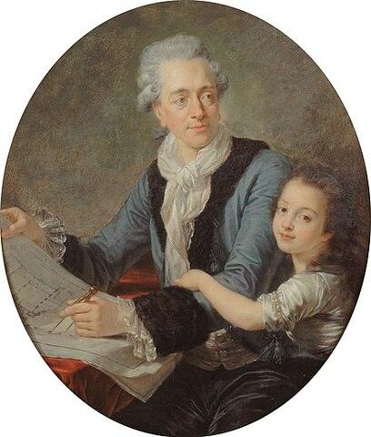 Claude-Nicolas Ledoux. (1736-1806).