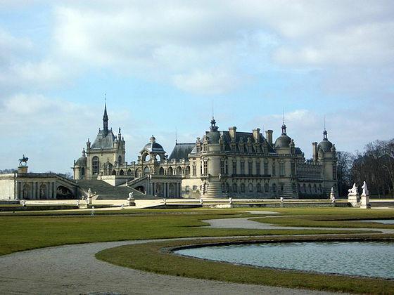 Palacio de Chantilly.