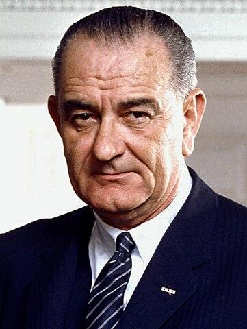 Lyndon B. Johnson. (1908-1973)- 36º Presidente de los Estados Unidos.