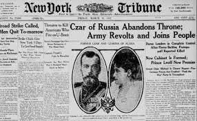 Nicholas II Abdication