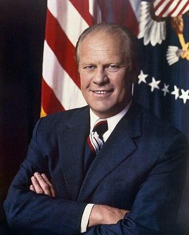 Gerald Ford. (1913-2006). - 38º Presidente de los Estados Unidos.