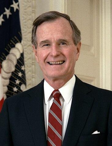 George H. W. Bush. (1924-2018). - 41º Presidente de los Estados Unidos.