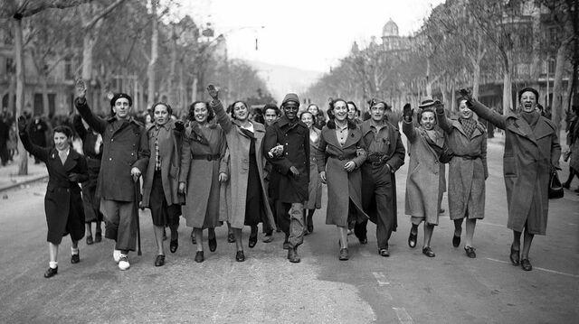 L'èxercit franquista a Barcelona