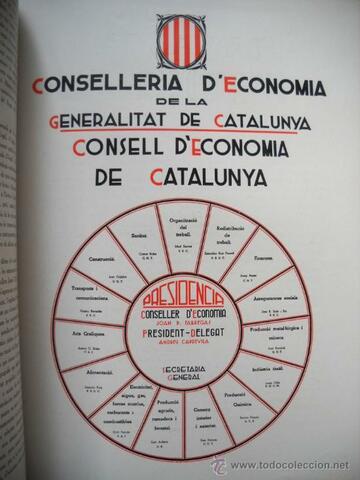 Creació del Consell d'Economia de Catalunya