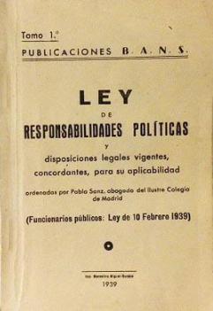 Llei de responsabilitats polítiques (Nacional)