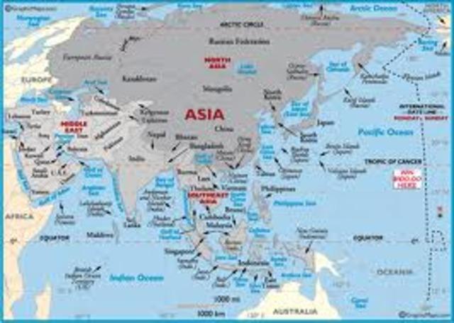 Earthquakes in Asia