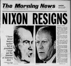 Watergate Scandal, which leads to Nixon's Resignation