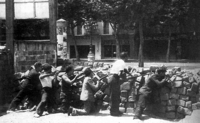 Revolta a Barcelona.