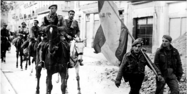 Nacionals entren a Tarragona