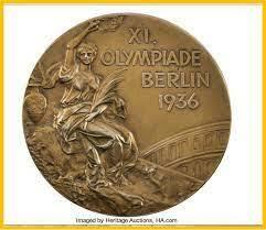 Primera medalla en los Olímpicos en Berlín