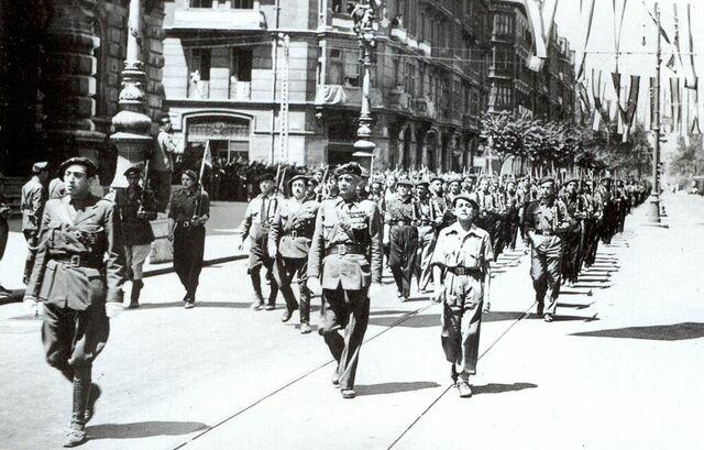 L'OCUPACIÓ DE BILBAO PER PART DELS NACIONALS