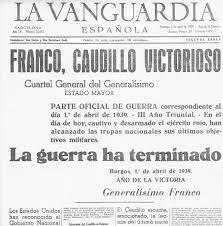 FI LA GUERRA CIVIL (01/04/1939)