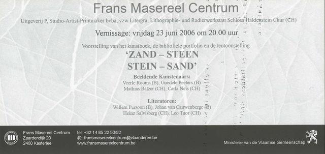 Zand-Steen-Stein-Sand
