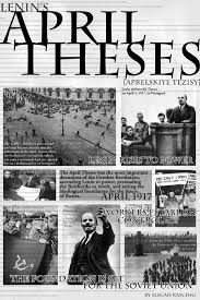 April Theses published