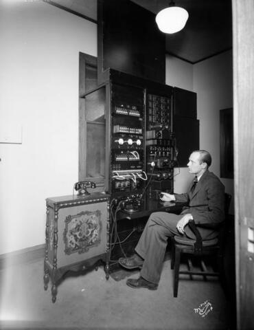 Formation of WIBA-Madison's first commercial station.