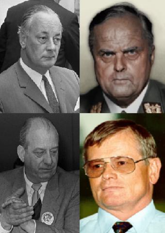 Processo ai Bormannisti presso Germania.