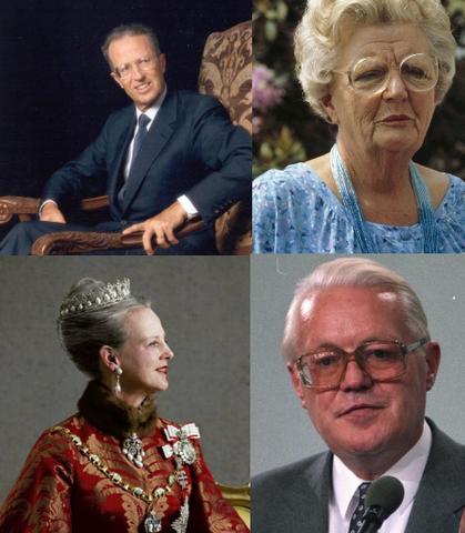 I Reali di Danimarca, Olanda e Belgio invitati a Germania.