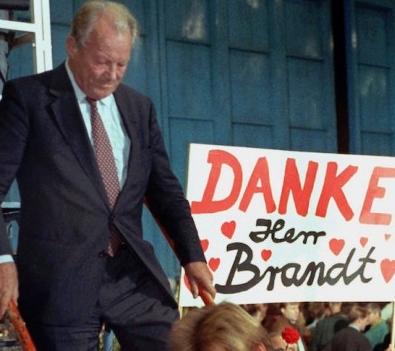Ritorno in Germania di Willy Brandt
