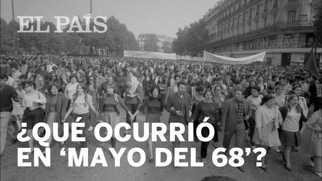 Movimientos como el de Mayo del 68 en Francia.