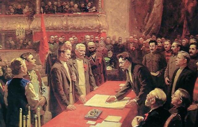 Formation of Soviet Union