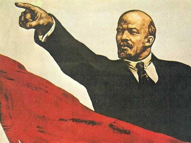Lenin Dies