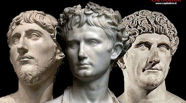 Pompeo, Cesare e Crasso formano il triumvirato