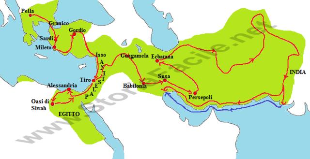 Dopo la morte di Alessandro Magno ...