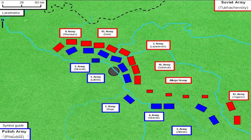Soviets attempt to take Warsaw