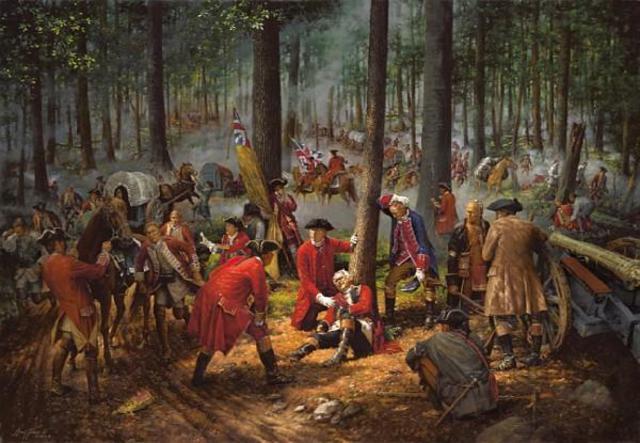 General Edward Braddock dies