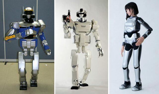 robots con I.A