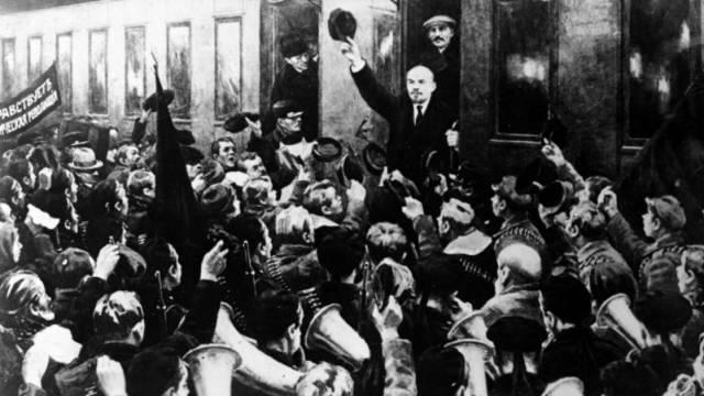 Return of Lenin from exile