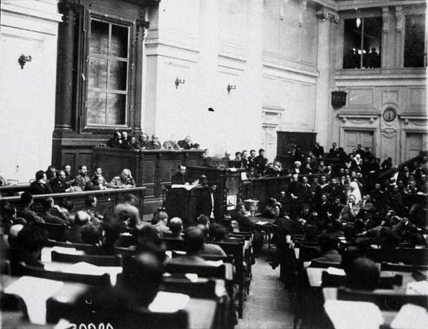 First All-Russian Congress of Soviets Meets