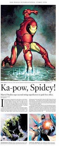 Marvel calls on Iron Man